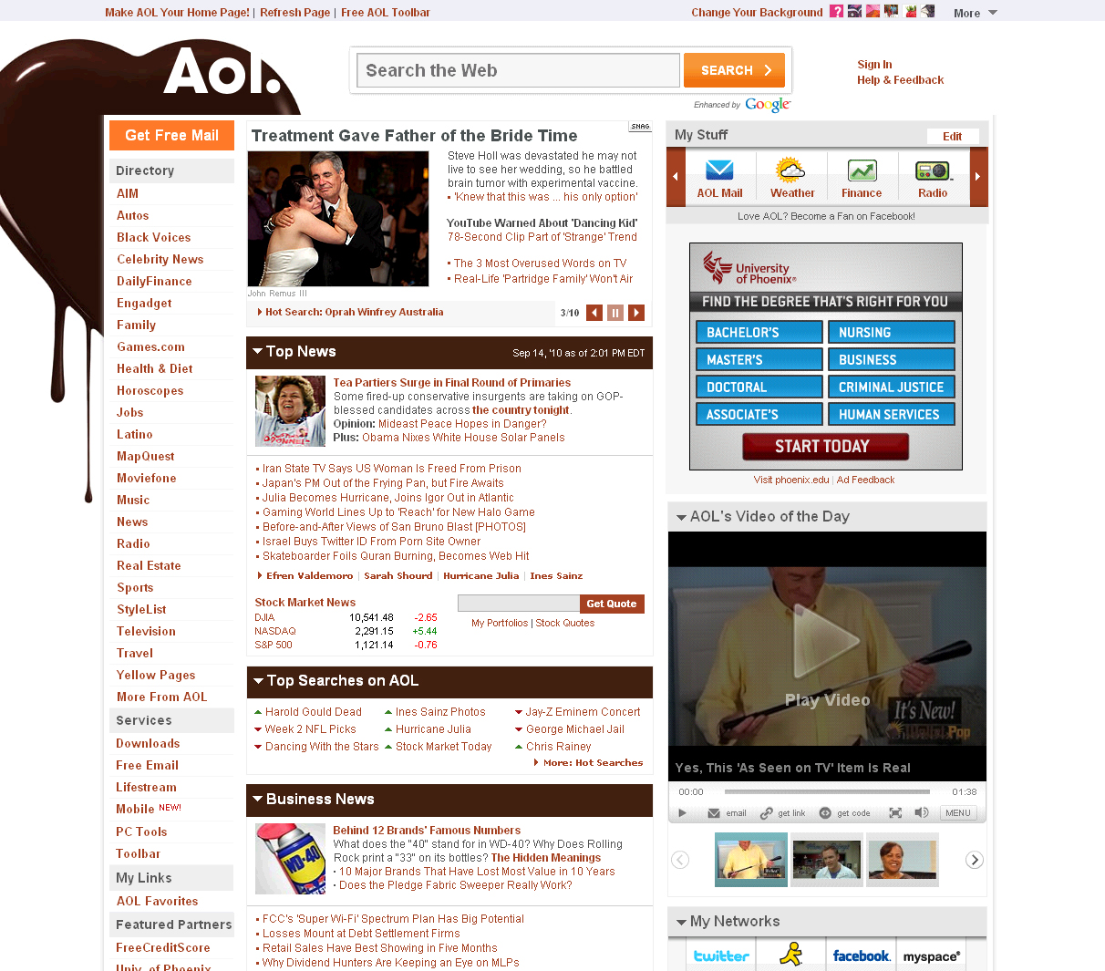 Holl_frontpage_AOL