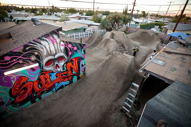 Backyard Bmx Jumps bmx rider portraits, buena park – john remus iii photography