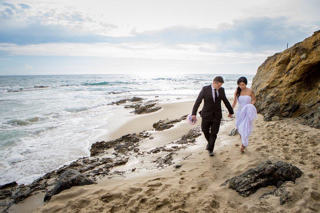 Perez Wedding Announcement Shoot - Laguna Beach, Calif.